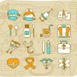 Stock Vector: Health care & medical icons