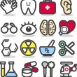 Medical ,Emergency ,health care icons set — Stock Vector #40869093