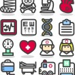Medical ,Emergency ,health care icons set — Stock Vector #40869113
