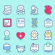 Emergency ,health care icons set — Stock Vector #40869119