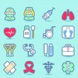 Health care icons set — Stock Vector #40869135