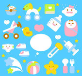Baby icon collection — Stock Vector