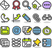 Web,Internet, Business icons Set — Stock Vector