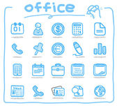 Office icons — Vector de stock