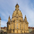 Dresdner Frauenkirche - Stock Photo