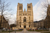 Saint-Michel et Sainte-Gudule — Stock Photo