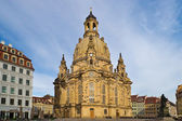Dresdner Frauenkirche — Stock Photo