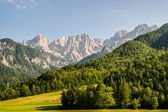 View to the Julian Alps — Stock Photo