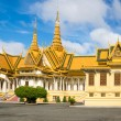 The Royal Palace in Phnom Penh - Stock Photo