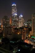 Banguecoque por noite — Foto Stock