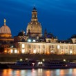 Historical Dresden at sunset — Stock Photo #14167466