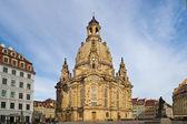 Dresdner Frauenkirche — Stock Photo