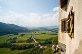 View from Castle Hochosterwitz — Stock Photo