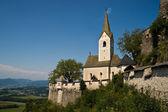 Church at Castle Hochosterwitz — Stock Photo