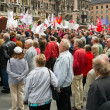 Labour Day Rally in Munich — Stock Photo
