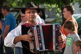 Musician at Villacher Kirchtag — Stock Photo