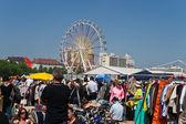 Flea-Market at Munich spring festival — Stock Photo