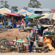 Chong-Chom market — Stock Photo