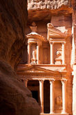 The Treasury in Petra — Foto de Stock