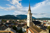 Aerial view of Villach — Stock Photo