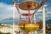 Gondola in the sky — Stock Photo