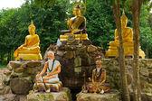 Buddhistiska helgedom — Stockfoto