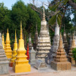 Stupas at Wat Bo — Stock Photo