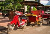 Camboya en tuk-tuk — Foto de Stock