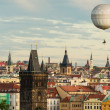 Prague oldtown with balloon — Stock Photo #18375551