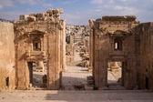 Ruins of antique Gerasa — Stock Photo