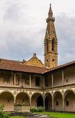 Antiguo monasterio en florencia — Foto de Stock