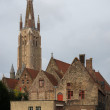 The Church of Our Lady in Bruges — Stock Photo