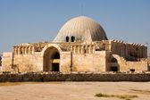 Old Umayyad Palace the the Amman Citadel — Stock Photo