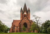 Pauluskirche Halle — Stock Photo