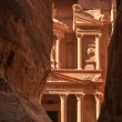 Stock Photo: The treasury in Petra