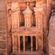 The treasury in Petra — Stok fotoğraf