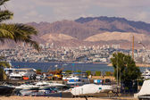 Seaside view of Eilat in Israel — Stock Photo