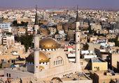 View to Madaba Mosque — Stock Photo