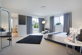 Master bedroom — Stockfoto