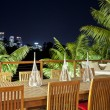 Stock Photo: Outdoor entertaining area