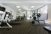 Modernt gym — Stockfoto