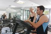Par i gym — Stockfoto