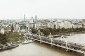 Aerial view over london — Stock Photo