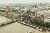Aeriel view over London — Stock Photo