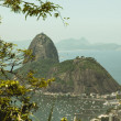 Sugar Loaf Mountain from Corcovado — Stock Photo