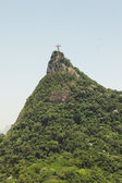 Christ the Redeemer staue, Corcavado — Stock Photo