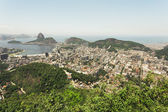 View over Rio from Corcovado — Stock Photo