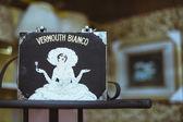 Vintage vermouth bianco handväska — Stockfoto
