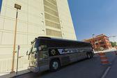 El Paso Sheriff Bus — Stock Photo