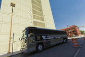 El Paso Sheriff Bus — Stok fotoğraf